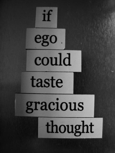 magnet poem