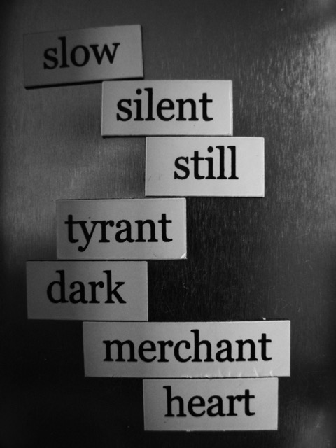 magnetic poem